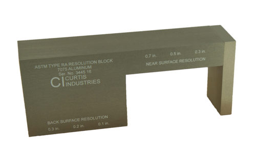 ASTM E317 RESOLUTION BLOCK