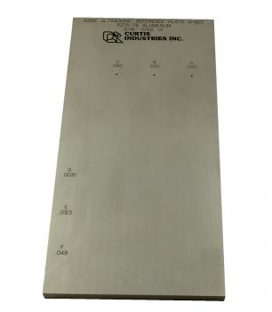 ASME N-625 REFERENCE PLATE